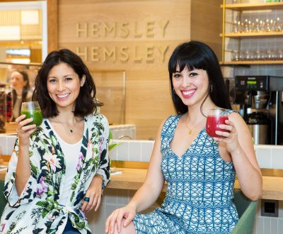 Selfridges: Sisterly love at Hemsley and Hemsley