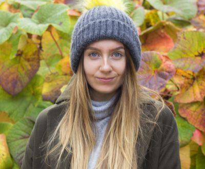 Meet the Glowstar Megan Hallett, the plant based Londoner