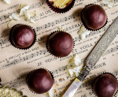 Recipes: Donna's Dark Chocolate Marzipan Balls