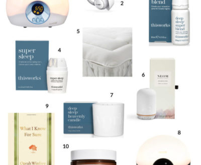 Our Top 10 picks for a good night's sleep