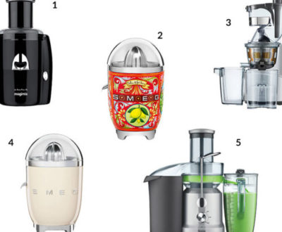 Our Top 5 Juicers