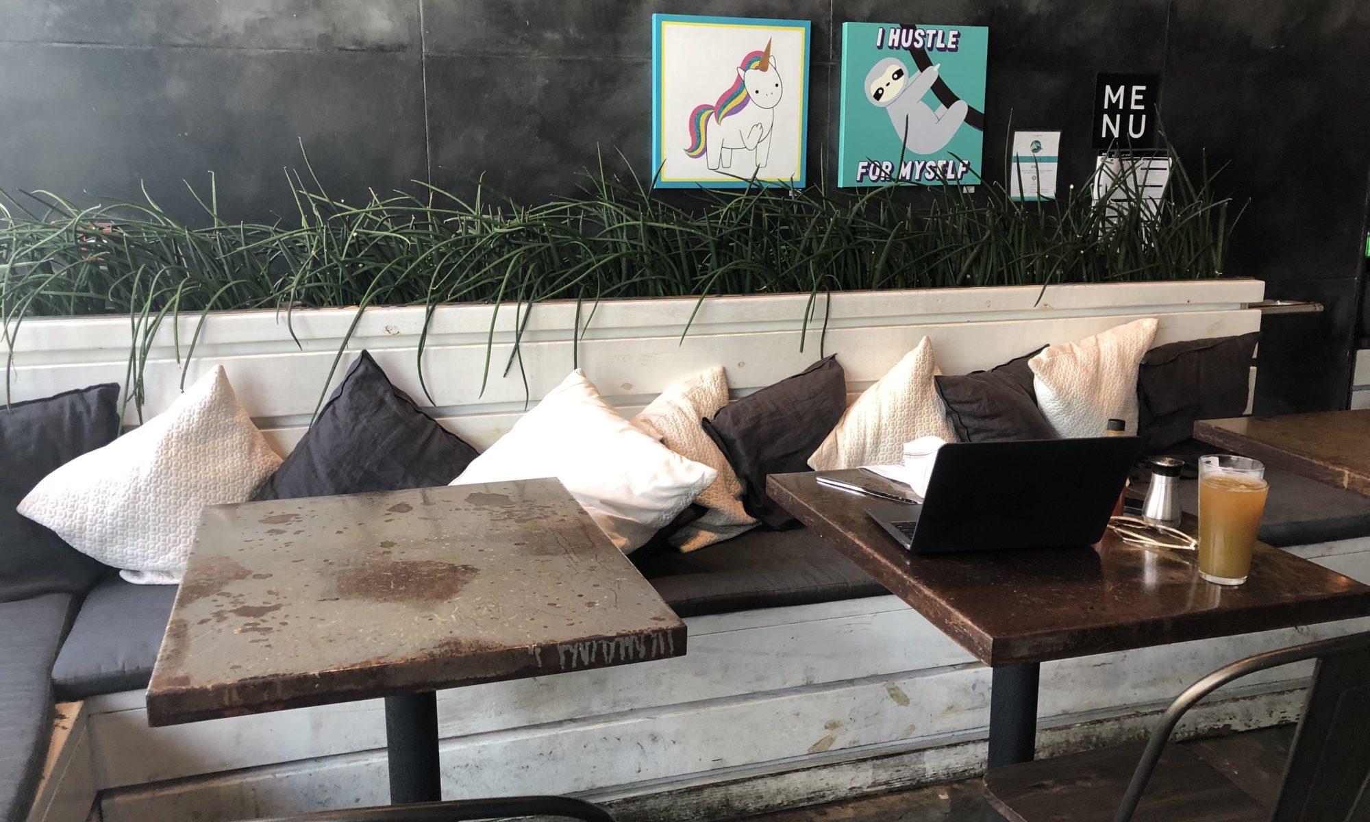 Elixir Charcoal Grey Leather Wedge Coffee Table
